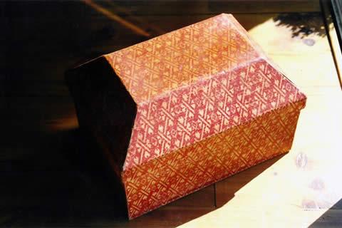 Réédition de boite à couture ancienne
