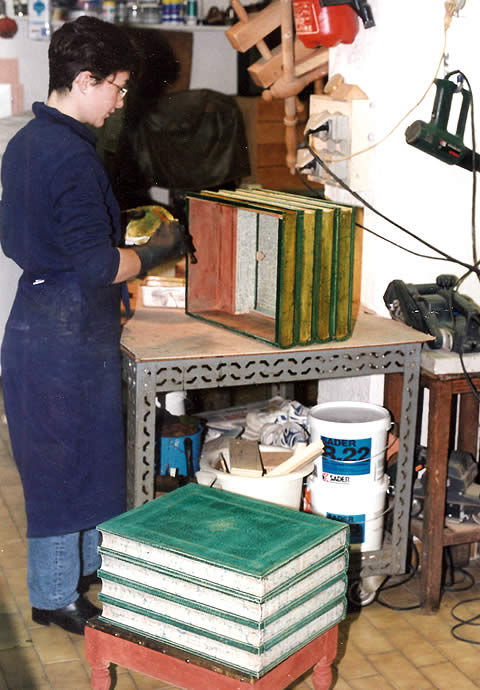 Atelier le Fleuron du Cuir - Réédition de meuble de commodité