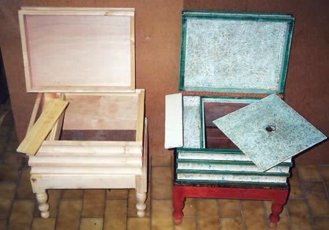 Réédition de meuble de commodité