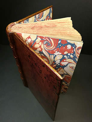 Bookbinding workshop in Sarrians