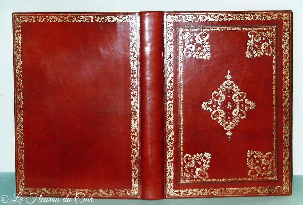Album photo décor du 18ème siècle