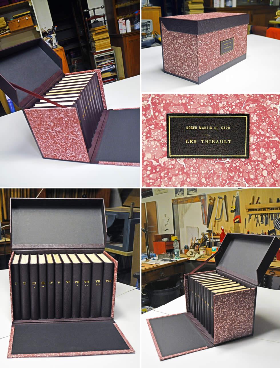 Boite de rangement personnalisée pour livres