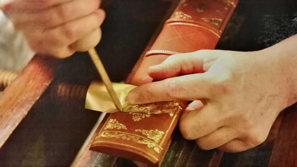 Leather Gilding
