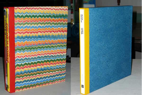 Etuis en carton pour livres