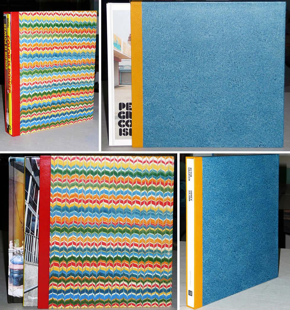 Etuis en carton pour protéger des livres