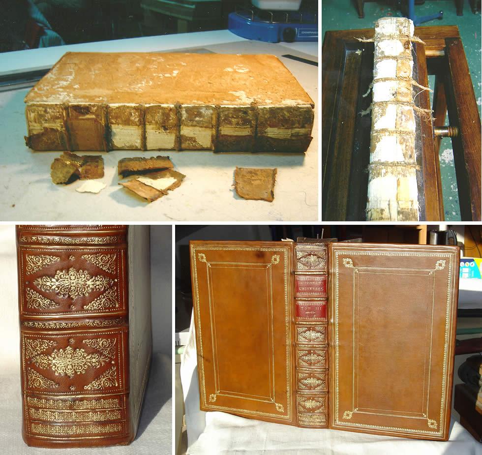 Restauration d'un dictionnaire de Furetière